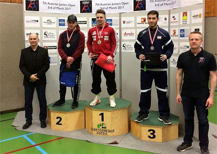 Gold & Bronze<br>beim Int. Junioren Weltcupturnier in Götzis