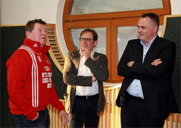 Sportminister Hans-Peter Doskozil zu Besuch in Wals